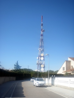 Antena de telecomunicaciones y telefonia móvil Alpicat