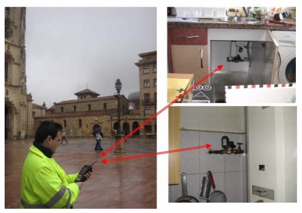 lectura de contadores de agua Oviedo