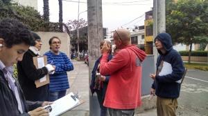 Prácticas sobre tendidos eléctricos y transformadores en Lima