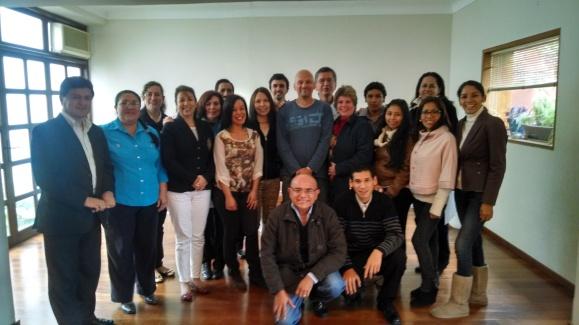Grupo de alumnos formados por Joan Carles López