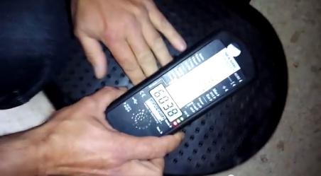 Campo magnético rn una plataforma vibratoria por Joan Carles López