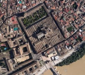 Vista general de la Mézquita.catedral  de Cordoba