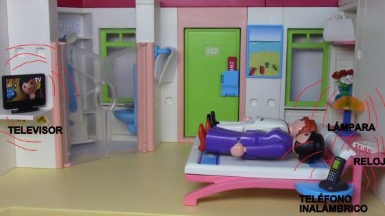 Riesgos en habitaciones de descanso por Joan carles López