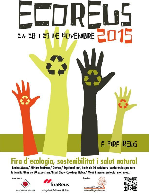 Cartel de la feria Ecoreus 2015 por Joan Carles López