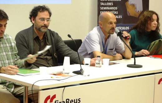 Mesa del wifi en Ecoreus 2014