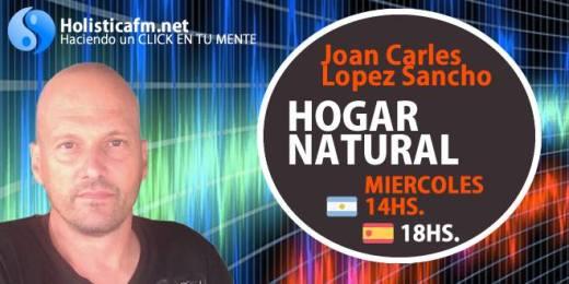 Programa en Argentina de Joan Carls López Hogar natural