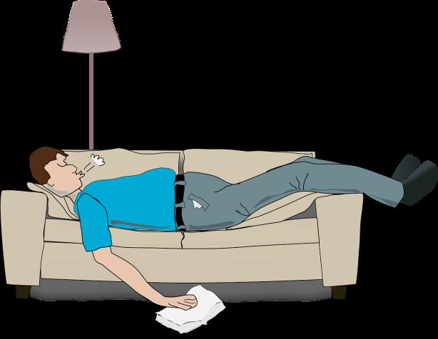 El descanso en el sofá a veces es una pesadilla, debido a los campos eléctricos por Joan Carles López