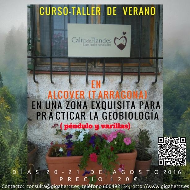 Codigo QTR Curso geobiología Alcover