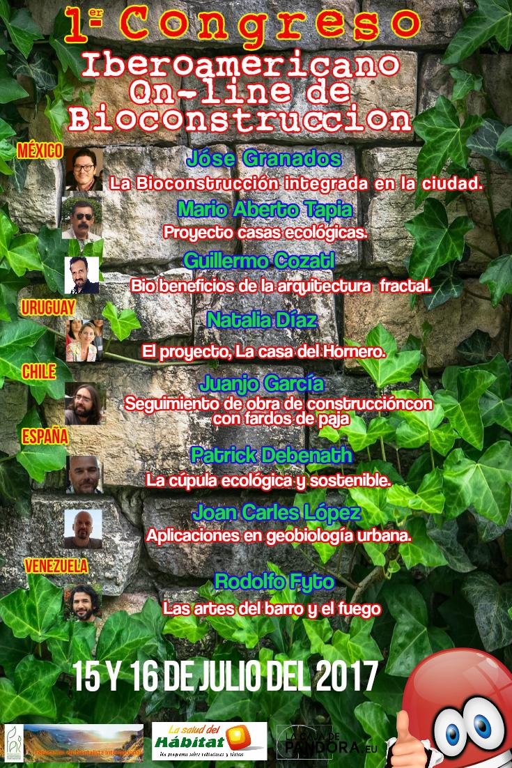 Primer congreso iberoamericano onlines de bioconstrucción por Joan carles López
