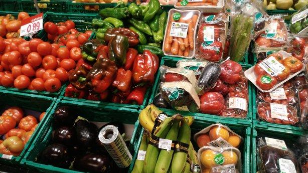 Comparación entre verduras y hortalizas ecológicas y las que no lo son por Joan Carles López