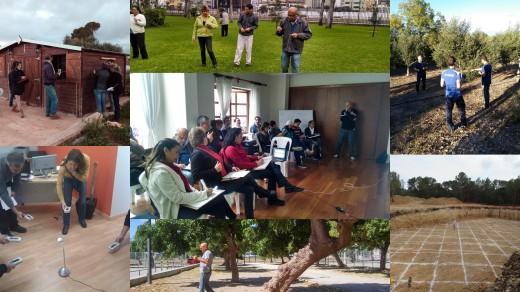 Prácticas de la Formación sobre geobiología y radiaciones del hábitat, por Joan Carles López