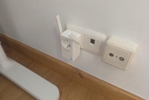 Antenas PLC wifi en todos los rincones y como contaminan