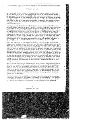 emf - USSR - biological effect, microwaves - skin, organs, blood, bone marrow reflex, enzymes, nucleic metabolism, 1977 - JPRS - CIA-4
