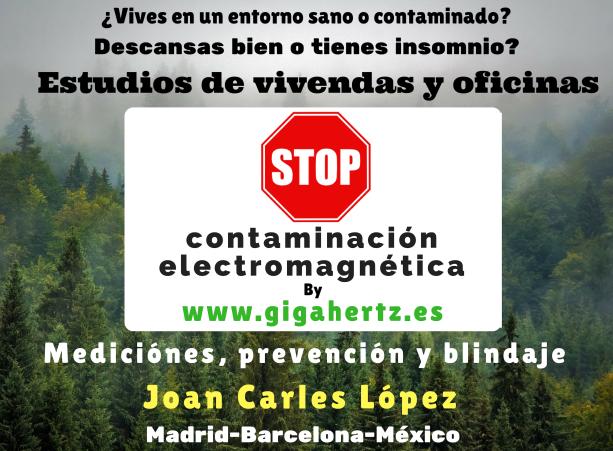 Estudios en viviendas y oficina descontaminación electromagnética a medida por Gigahertz