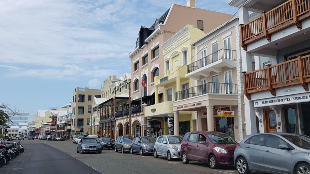 Calle popular de Bermuda